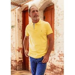 Camisa Polo Amarelo Claro Algodão - 790001903 - Basilio Brazilian Wear