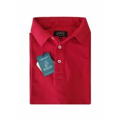 Camisa Polo Vermelha Algodão - 790001908 - Basilio Brazilian Wear