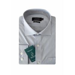 Camisa Social Texturizada Slim 4528/001/10 - 79000... - Basilio Brazilian Wear