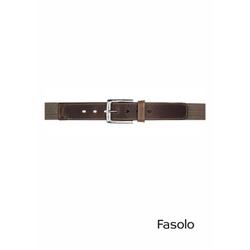 Cinto Casual Masculino Café Fasolo E864 - 79010870... - Basilio Since 1966