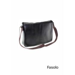 Pasta em Couro Preto Fasolo R132004 - 790109001 - Basilio Brazilian Wear