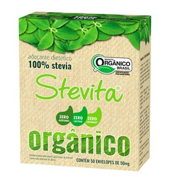 Adoçante Stevia Orgânica Sachê - 50mg - Stevita - ... - BCL ALIMENTOS