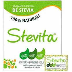 Adoçante Stevita Em Pó Com 50 Envelopes De 0,6g - ... - BCL ALIMENTOS