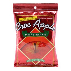 Croc Apple Maçã e Canela - Flora Frutas - 40g - 12... - BCL ALIMENTOS