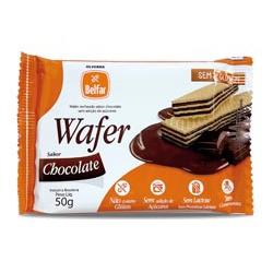Wafer Belfar Chocolate Sem Glúten 50g - 178009 - BCL ALIMENTOS