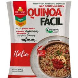 Quinoa Fácil Itália Orgânica 100g - 125070 - BCL ALIMENTOS