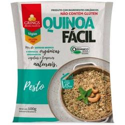 Quinoa Fácil Pesto De Manjericão Orgânica 100g - 1... - BCL ALIMENTOS