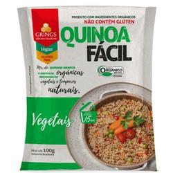 Quinoa Fácil Vegetais Orgânica 100g - 125071 - BCL ALIMENTOS