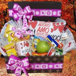 Caixa Obrigado por Tudo - 2061088 - Bellas Cestas Online Salvador