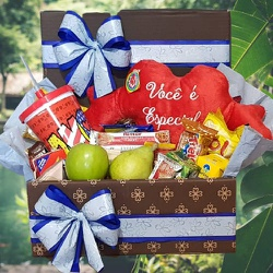 Caixa Eu Te Amo! - 749429 - Bellas Cestas Online Salvador