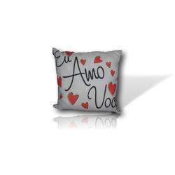 Almofada Eu Amo Você! - 2560399 - Bellas Cestas Online Salvador