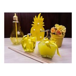 Kit Aromatizador e Sabonete Liquido Amarelo - 388 - Bem Feito Arte