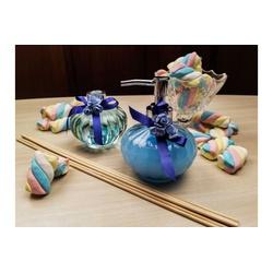 Kit Aromatizador e Sabonete Gel Liquido Azul - 390 - Bem Feito Arte