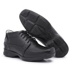 Sapato Social Masculino Anti-stress Preto - 5001 - BERGALLY
