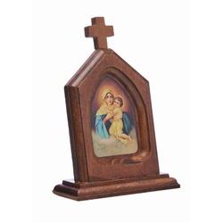 Capelinha em Madeira Mãe Rainha - 9799 - Betânia Loja Católica