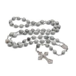 Terço Lágrimas de Nossa Senhora com Crucifixo da S... - Betânia Loja Católica