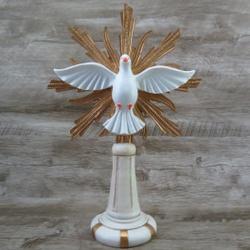 Imagem Resina - Divino Espírito Santo 35 cm - 240... - Betânia Loja Católica