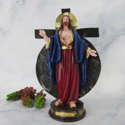 Imagem em Resina - Santas Chagas de Jesus 20 cm - ... - Betânia Loja Católica