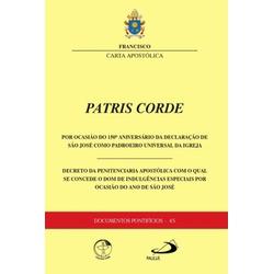 Livro : Carta Apostólica Patris Corde - Documentos... - Betânia Loja Católica