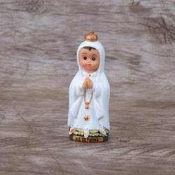 Imagem Resina - Nossa Senhora de Fátima 8 cm Crian... - Betânia Loja Católica