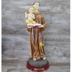 Imagem Resina - Santo Antônio 40 cm - 17978 - Betânia Loja Católica