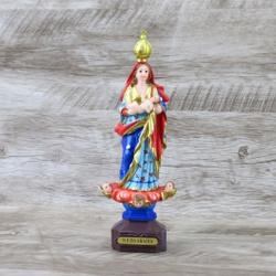 Imagem Resina- Nossa Senhora da Abadia 23 cm - 274... - Betânia Loja Católica