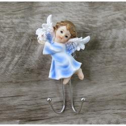 Anjinho com gancho em resina - 14 cm - 27441 - Betânia Loja Católica