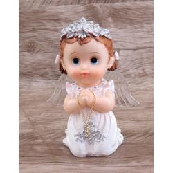 Anjinho com asa iluminada 15 cm - Branco - 25829 - Betânia Loja Católica