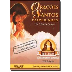 Livro Orações e Santos Populares - 156 - Betânia Loja Católica
