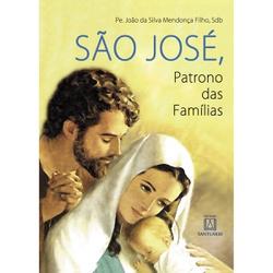 Livro : São José Patrono das Famílias - 8271 - Betânia Loja Católica