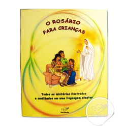 Livro Rosário para Crianças com Terço em Nylon - 5... - Betânia Loja Católica