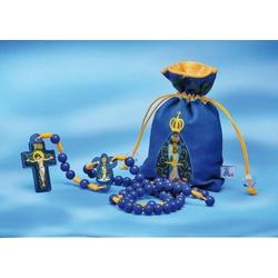 Terço infantil Nossa Senhora Aparecida - 16024 - Betânia Loja Católica