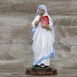 Imagem Resina - Madre Teresa de Calcutá 20 cm - 24... - Betânia Loja Católica