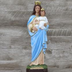 Imagem Gesso - Nossa Senhora da Guia 30 cm - 4014 - Betânia Loja Católica