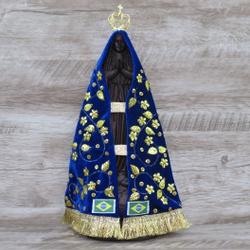 Imagem Gesso - Nossa Senhora Aparecida 30 cm - 488 - Betânia Loja Católica