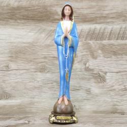 Imagem Resina - Nossa Senhora do Silêncio 20 cm - ... - Betânia Loja Católica