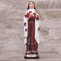 Imagem Resina - Santa Teresinha 15 cm - 20461 - Betânia Loja Católica