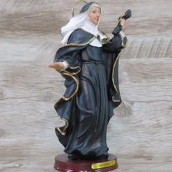 Imagem Resina - Santa Rita Cássia 20 cm - 22035 - Betânia Loja Católica