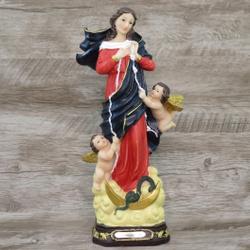 Imagem Resina - Nossa Senhora Desatadora dos Nós 3... - Betânia Loja Católica