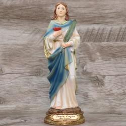 Imagem Resina - Santa Luzia 20 cm - 18643 - Betânia Loja Católica