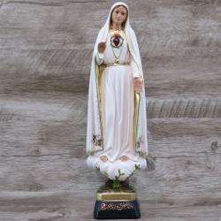 Imagem Durata - Sagrado Coração de Fátima 30 cm - ... - Betânia Loja Católica
