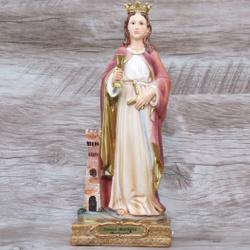 Imagem Resina - Santa Bárbara 20 cm - 18640 - Betânia Loja Católica