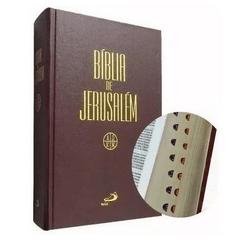 Bíblia de Jerusalém - Editora Paulus Capa Dura - L... - Betânia Loja Católica