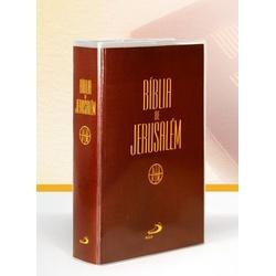 Bíblia de Jerusalém -Editora Paulus- Média Cristal... - Betânia Loja Católica