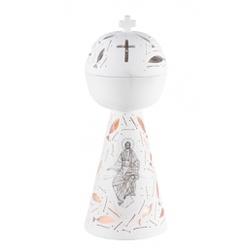 Incensário Rendado Cristo Pantocrator 26cm - 26030 - Betânia Loja Católica