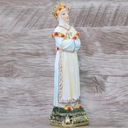 Imagem Resina - Nossa Senhora da Salette 15 cm - 1... - Betânia Loja Católica