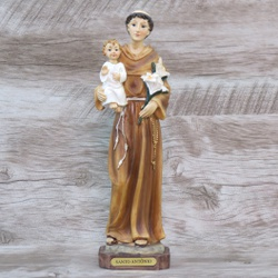 Imagem Resina - Santo Antônio 23 cm - 25141 - Betânia Loja Católica
