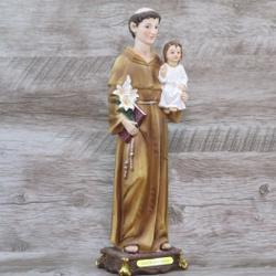 Imagem Resina - Santo Antônio 30 cm - 24013 - Betânia Loja Católica
