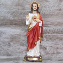 Imagem Resina - Sagrado Coração Jesus 30 cm - 2533... - Betânia Loja Católica