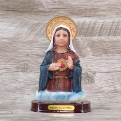 Imagem Resina - Imaculado Coração Maria Busto - 17... - Betânia Loja Católica
